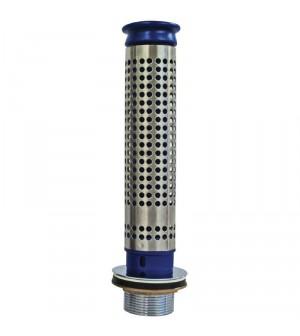 Bonde 70mm et tube de surverse avec filtre pour plonge prof 250mm