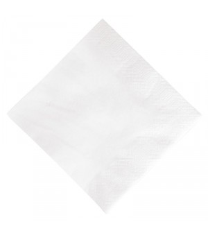 Serviette ouate blanche Duni 330mm