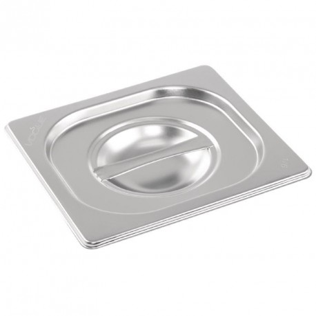 Couvercle Bac Gastro Inox GN 1/6 - Vogue -