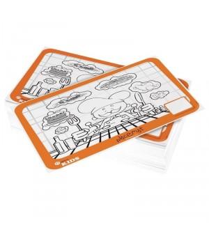 Sets de table à colorier pour enfants