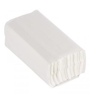 Essuie-mains pli en C blanc Jantex