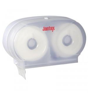 Micro distributeur double de papier hygiénique Jantex