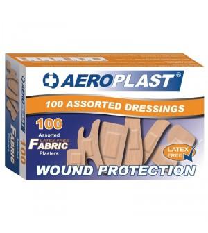 Pansements sans latex assortis Aeroplast