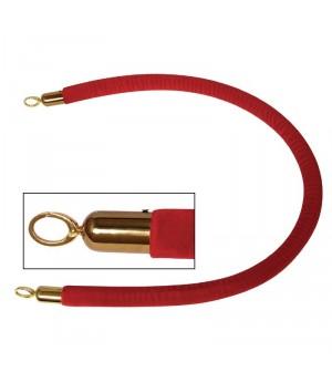 Corde rouge de barrière