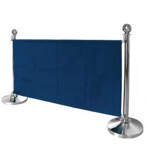 Barrière en toile bleu foncé Bolero