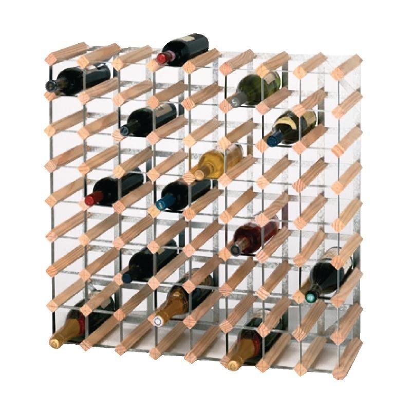 casier bouteilles en bois 72 bouteilles. Black Bedroom Furniture Sets. Home Design Ideas