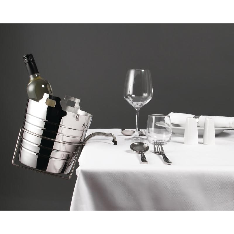seau champagne inox olympia olympia seaux a vin et. Black Bedroom Furniture Sets. Home Design Ideas