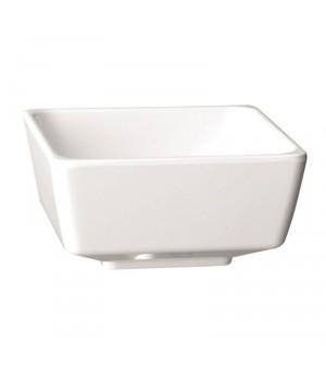 Bol carré blanc Float 90mm APS