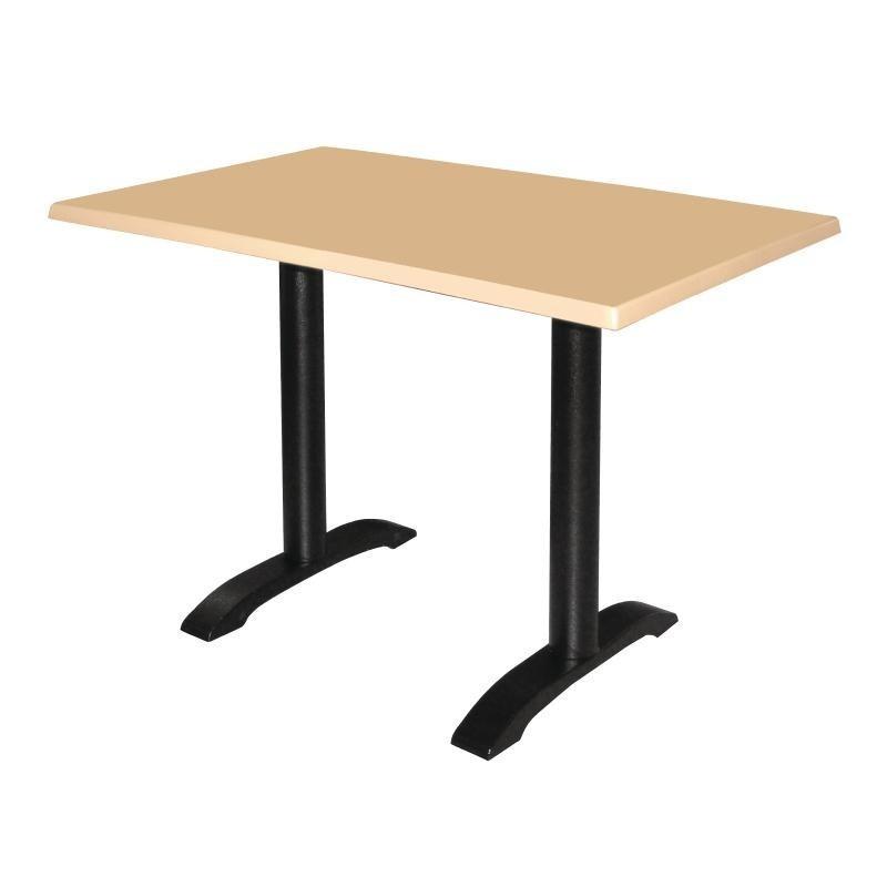 2 pieds de table en fonte bolero. Black Bedroom Furniture Sets. Home Design Ideas
