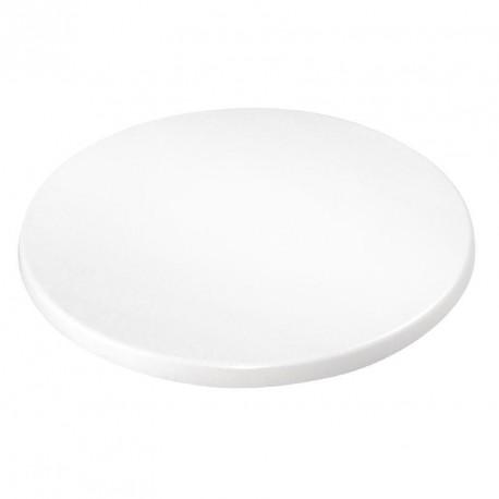 plateau de table rond bolero 600mm blanc plateau et pied de table pas cher. Black Bedroom Furniture Sets. Home Design Ideas