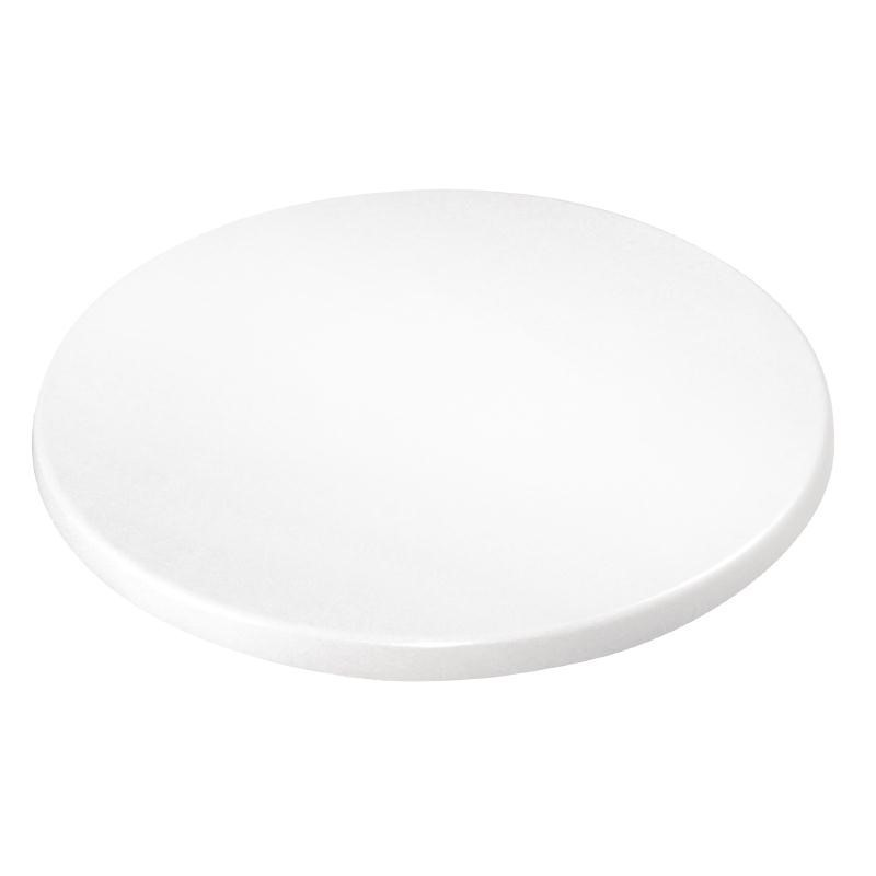 Plateau de table rond 600 mm blanc - Bolero -