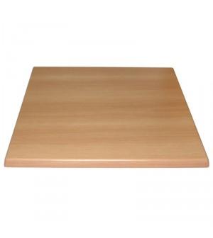 Plateau de table carré Hêtre 700mm