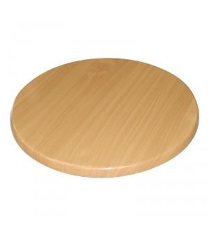 Plateau de table rond hêtre Bolero 800mm