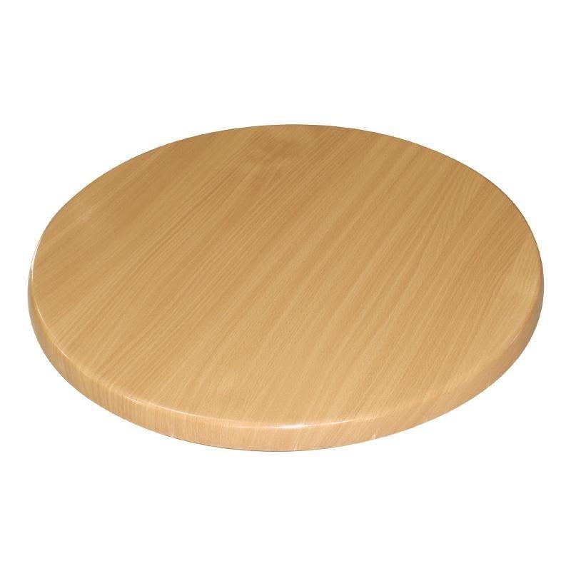 plateau de table rond h tre bolero 800mm. Black Bedroom Furniture Sets. Home Design Ideas