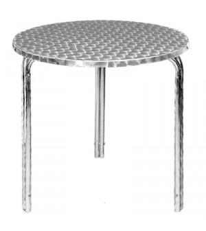 Table ronde Bistro empilable Bolero 600mm