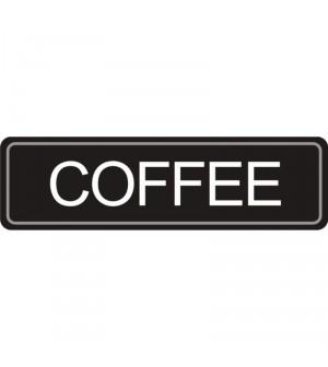 Etiquette Café pour pichet à pompe.