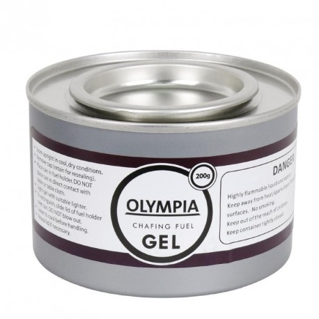 Gel combustible pour chauffe-plat 200g