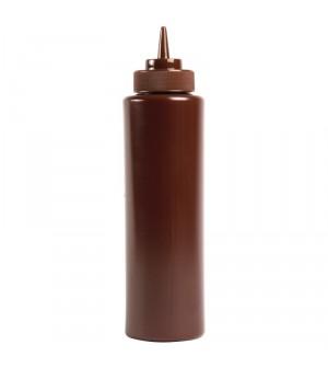 Distributeur de sauce Vogue 340ml marron