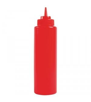 Distributeur de sauce Vogue 237ml rouge
