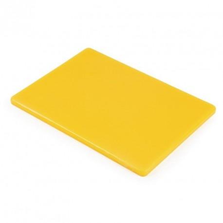 petite planche d couper basse densit jaune hygiplas 229x305x12mm. Black Bedroom Furniture Sets. Home Design Ideas