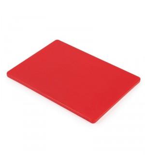 petite planche d couper basse densit rouge hygiplas 229x305x12mm. Black Bedroom Furniture Sets. Home Design Ideas