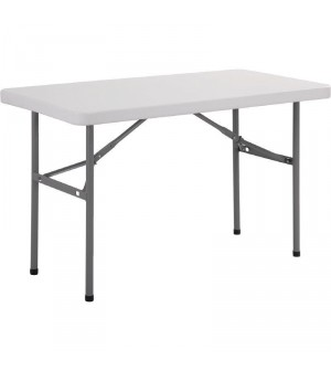 Table rectangulaire pliante 1,2m Bolero