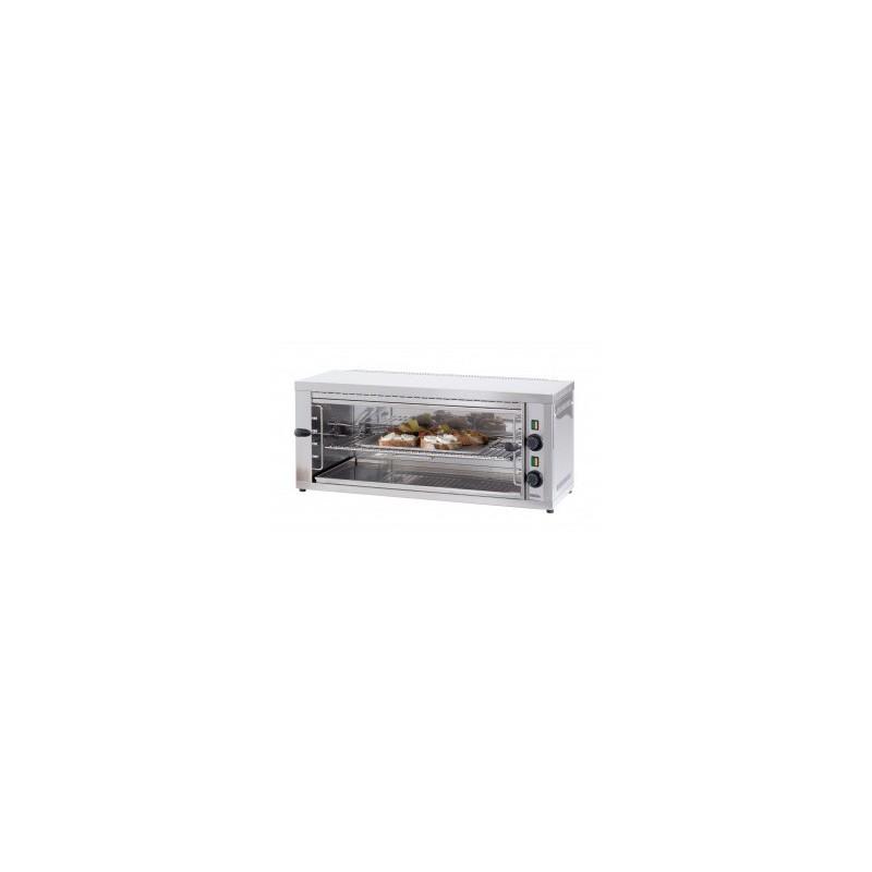 Toaster Professionnel Salamandre électrique - 4 niveaux - Longueur  875 mm - Casselin - CSPAGM