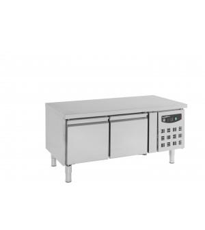 TABLE 650 2xGN1/1 HAUTE 2PORTES