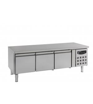 TABLE RÉFRIGÉRÉE 650 3xGN1/1 HAUTE 3PORTES