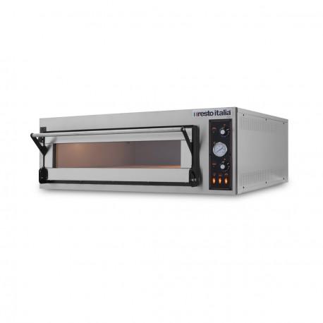 Four à pizza électrique - 6 pizzas - TR 10,2 kW - Resto Italia -