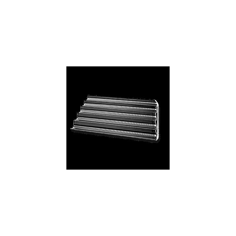 plaque perfor e anti adh rente en aluminium 5 rang es pour baguettes fra ches. Black Bedroom Furniture Sets. Home Design Ideas