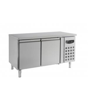 TABLE 1510x800x860 PÂTISSERIE 428L 2 PORTES
