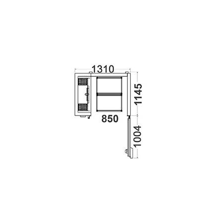 Cellule de Refroidissement et Surgélation - 20 Niveaux 2 GN 1/1 - Acfri -