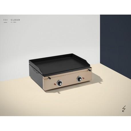 plaque snacker inox plancha pas cher. Black Bedroom Furniture Sets. Home Design Ideas
