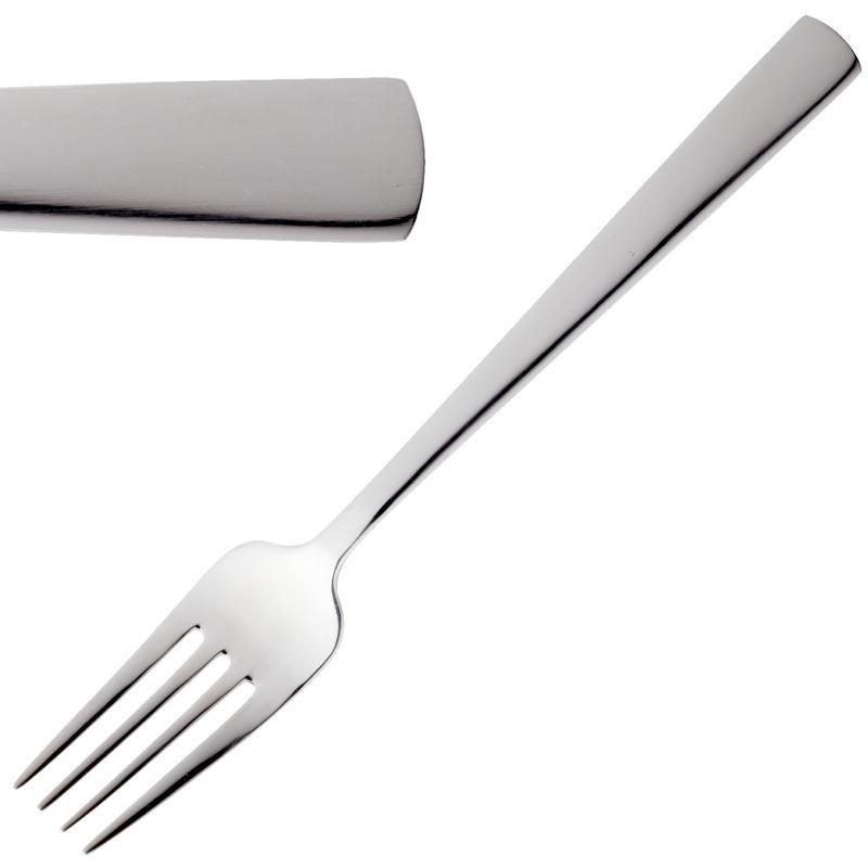 Fourchette à dessert 190 mm Amefa Moderno - Boite de 12 pièces -