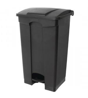 poubelle de cuisine p dale 65l jantex noire. Black Bedroom Furniture Sets. Home Design Ideas