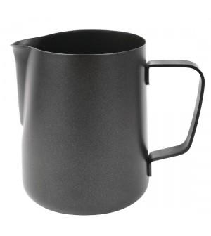 Pichet à lait antiadhérent noir Olympia 568ml