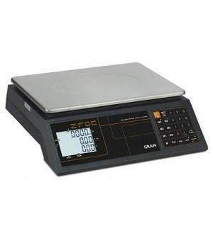 BALANCE ZFOC-15 Capacité 6/15 kg Résolution 2/5 g