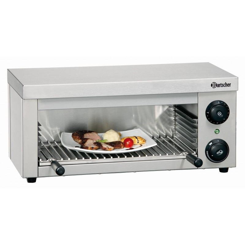 Toaster Professionnel - 2,0 kW - 1 Grille 1 Lèche Frite - Bartscher - A1515001