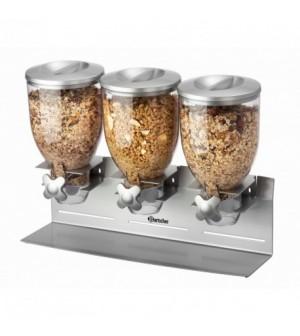 Triple distributeur de céréales