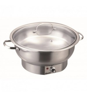 Chafing Dish Electrique rond, 3,8L