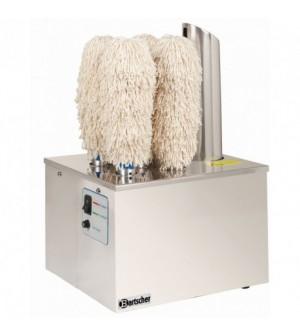 Machine à essuyer et polir verres professionnelle