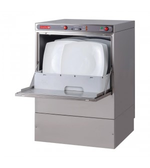 Lave-vaisselle 50x50 230V avec pompe de vidange et doseur détergent
