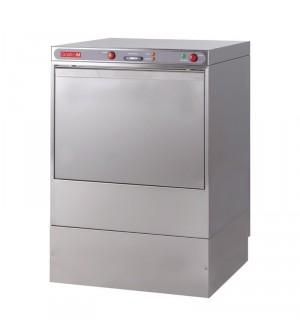 Lave-vaisselle professionnel 50x50 400V avec pompe de vidange et doseur détergent