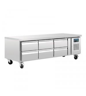 Table réfrigérée de soubassement - 317 L