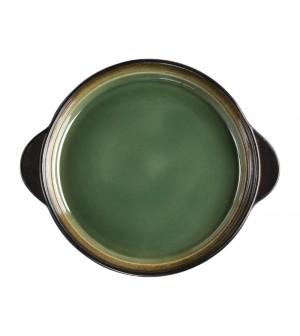 Plateaux à tapas ronds verts - 190mm