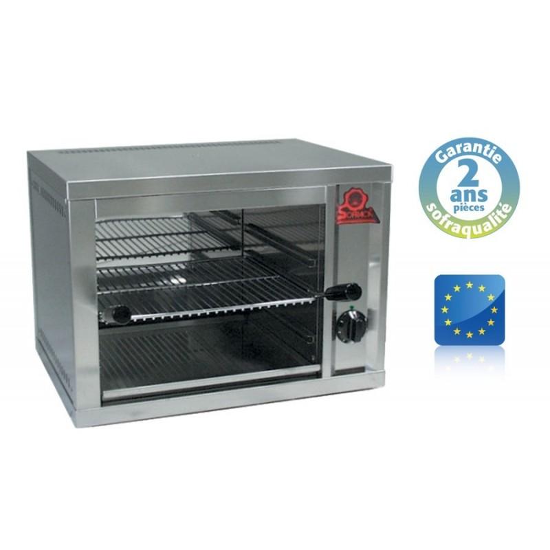 Toaster Professionnel Salamandre électrique fermée - 1 Résistance blindée - Sofraca - 24042