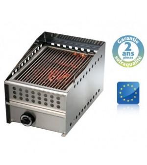 Wood steak grill gaz - L 400 mm