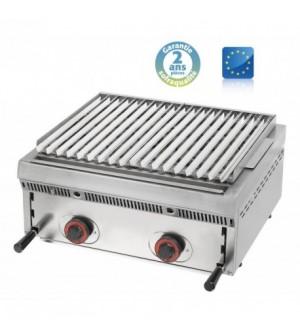 Wood steack grill gaz réglable - L 600 mm