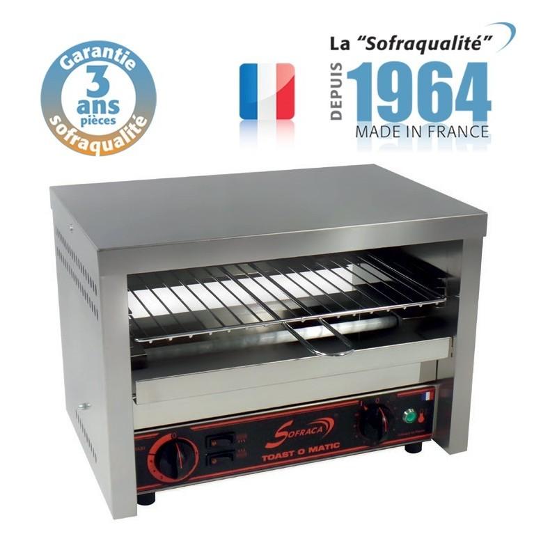 Toaster Professionnel multifonction avec régulateur 230 V - Club 1 étage - Sofraca - 11552R